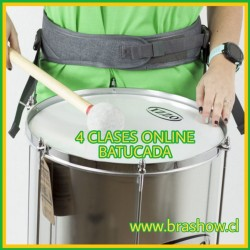 4 Clase Online Batucada